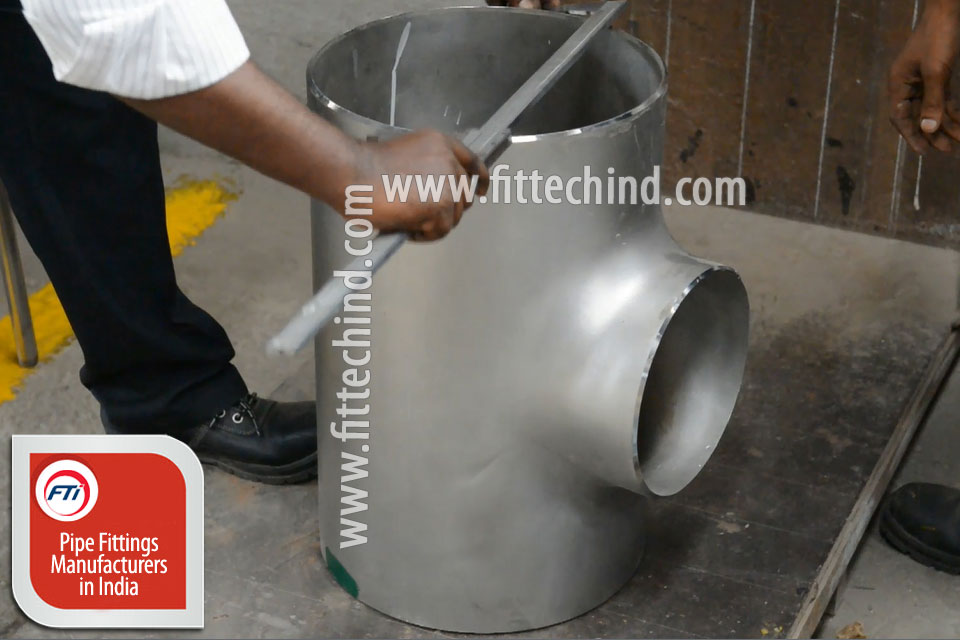 ASTM A403 WP316Ti Stainless Steel Pipe Fittings manufacturers in India