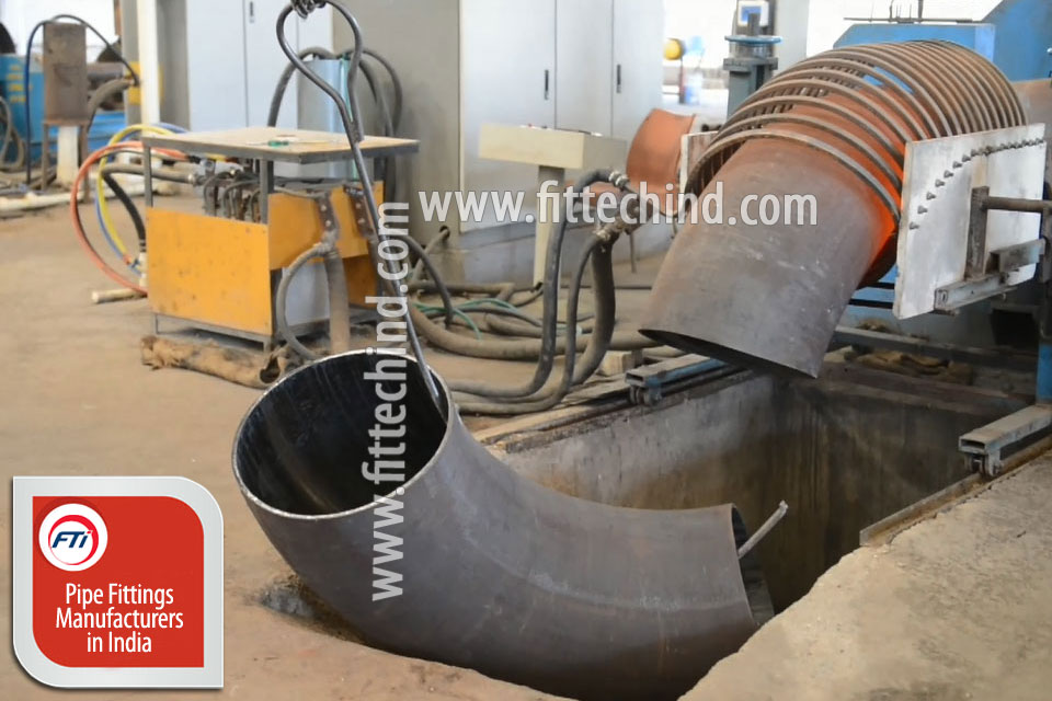 Carbon Steel Pipe Bends manufacturers in India