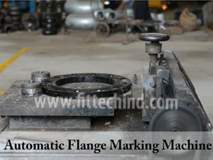 Original Pic of ASTM A182 F317L Stainless Steel Flanges manufacturing in FitTech Factory