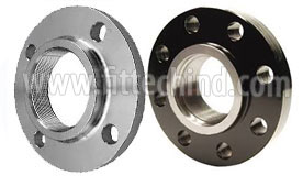 ASTM A182 F304 Stainless Steel Screwed Flange