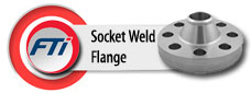 Stainless Steel / Carbon Steel Socket Weld Flange